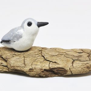 polymerclay, clay, fimo, bird, sanderling, shorebird