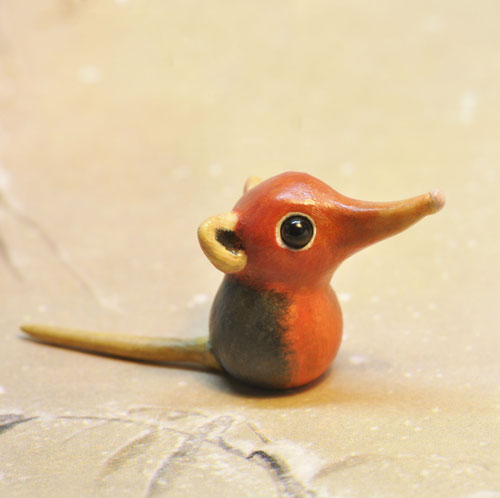 Polymer Clay Elephant Shrew