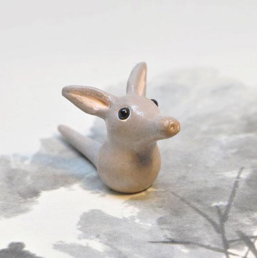 Polymer Clay Aardvark