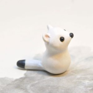 Polymer Clay Arctic Fox